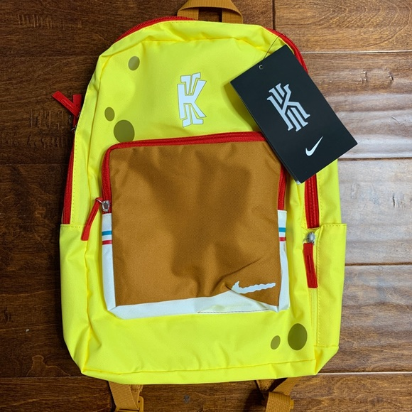 Colega heroína Supone  Nike Other | Kyrie 5 Sbsp V Irving Spongebob Backpack | Poshmark